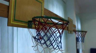 Basketball basket — Stock Video