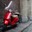 Stock Photo: Vespscooter