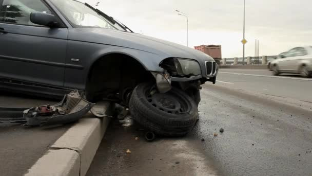 Accidente — Vídeo de stock