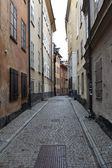 Cityscape street in old town — Stock Photo