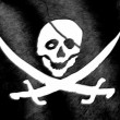 Stock Video: Jolly Roger