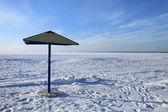 Plage d'hiver — Photo