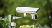 Camera outdoor surveillance — Stock Photo