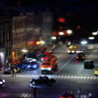 Traffic at Night - Foto de Stock