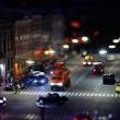 Traffic at Night - Foto Stock