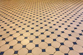 Old tiled floor — Stock Photo