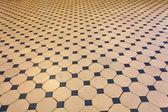 Old tiled floor — Stock Photo