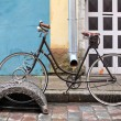 Old bicycle - Stock Photo