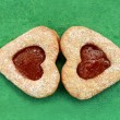 Stock Photo: Heart cookie