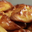Pies with cabbage — Stock Video