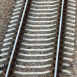 Stock Photo: Train line