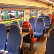 Inside train — Foto Stock
