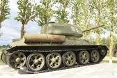 Tank T34 — Stock Photo