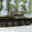 tanque t34 — Foto Stock