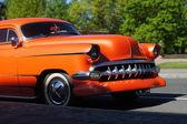 Orange American Car — Stock Photo