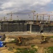 Construction Site Time Lapse — Stock Video