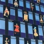 Facade building — Stock Photo