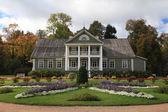 美丽的花卉园 — 图库照片