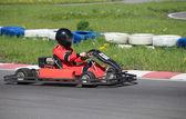 Go-Carting  Race — Stock Photo