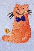 姜猫 — 图库照片