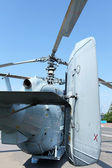 Attack helicopter rear view — Photo
