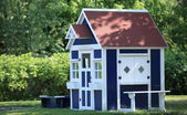 Playhouse for kids — Stock Photo