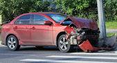 Сar accident — Stock Photo