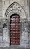Puerta gótica — Foto de Stock