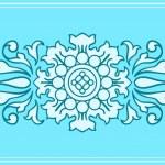 Pretty floral ornament design element — Stock Vector #29998623