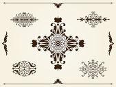 Ornament design elements — Stock Vector