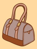 Ladies handbag — Stock Vector
