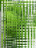 Green and white background of shining strips — Stock Photo