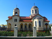 Beautiful orthodox church — Stock Photo