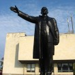 The big and black monument to Lenin — Stock Photo #14264087