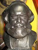 Karl Marx bronze bust — Stock Photo