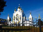 церковь всех святых в городе чернигов — Стоковое фото