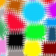 Abstract background of multicolor patch — Stock Photo