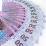 Постер, плакат: Ukrainian money value of 50