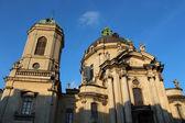 La iglesia dominicana y el monasterio en lviv — Foto de Stock