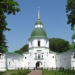 Architecture of a monastery in Novgorod-Severskyi — Stock Photo