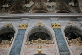 Magnificent wall in one of the church of Lvov — Stock Photo
