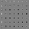 Abstract background with black and white spots — Zdjęcie stockowe #36205947