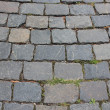 Covering of road made from stone blocks — Stock Photo