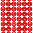 Pattern from red shapes like laces — Stock Photo #37352385