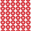 Pattern from red shapes like laces — Stock Photo #37531303