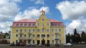 Belo edifício na área da cidade de chernigov — Foto Stock