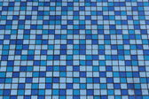 Texture from blue and light blue mosaic — Foto Stock