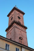 Tower of city hall in the center of Lvov — Stock Photo