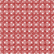 Pattern from red shapes like laces — Stock Photo #42145051
