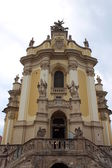 Nice church in Lvov — Foto de Stock